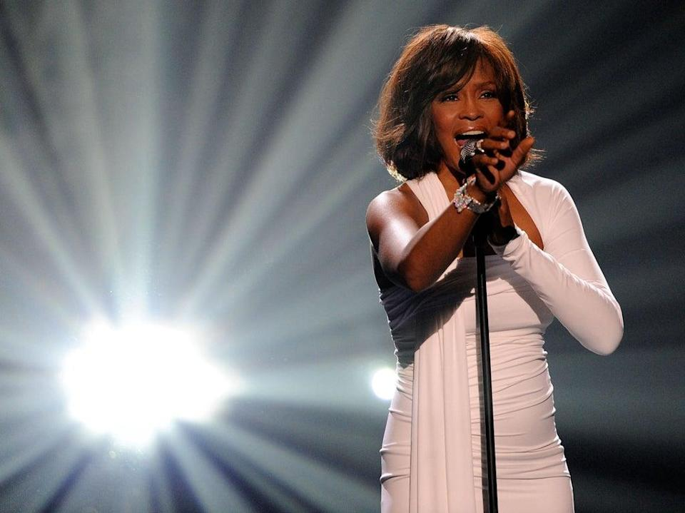 Whitney Houston famously covered Dolly Parton's song, 'I Will Always Love You' (Getty Images)