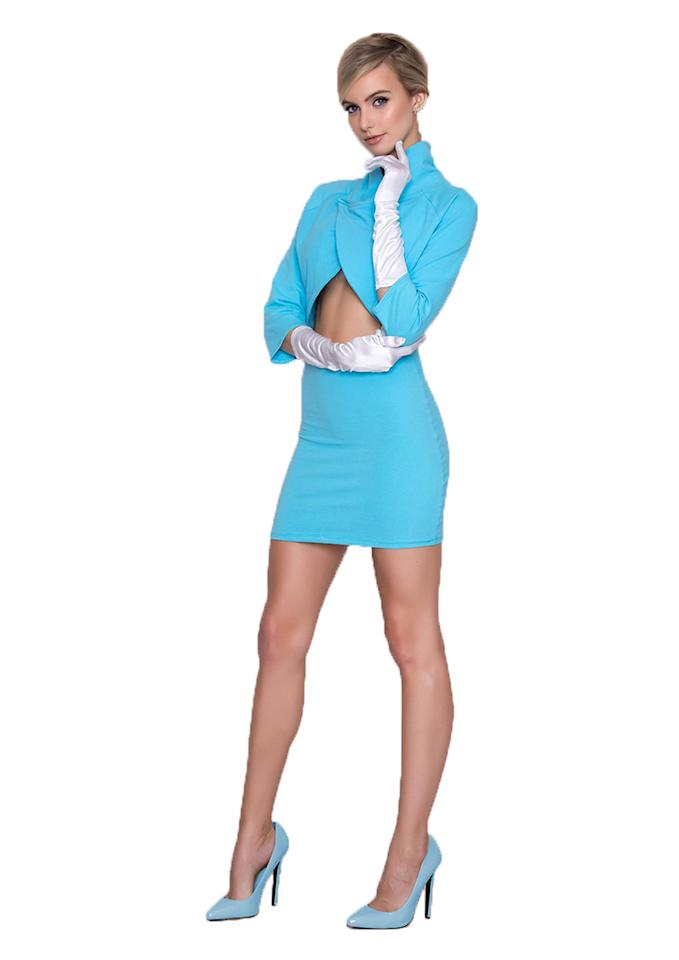 <p>Apparently, Halloween is the ideal opportunity to turn women into nothing but an object for men. The 'Model Wife' costume is essentially Melania Trump's inauguration outfit – except it's super short and has a cropped top.<br /><i>[Photo: Yandy]</i> </p>