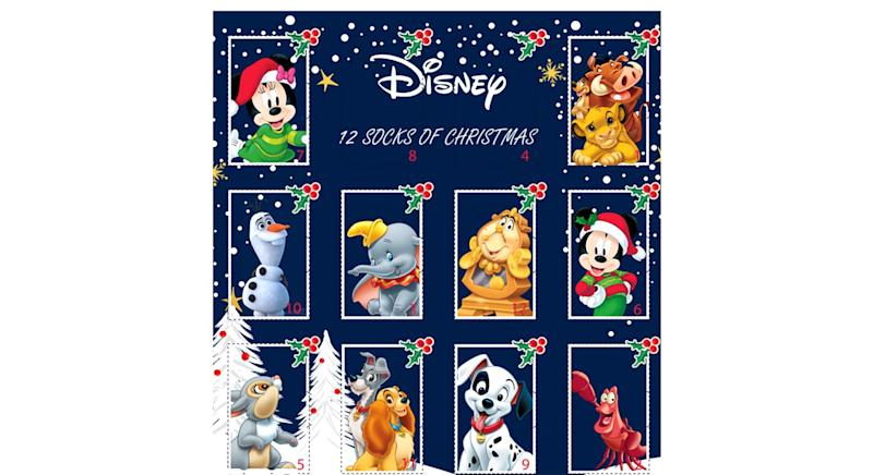 Disney Sock Advent Calendar