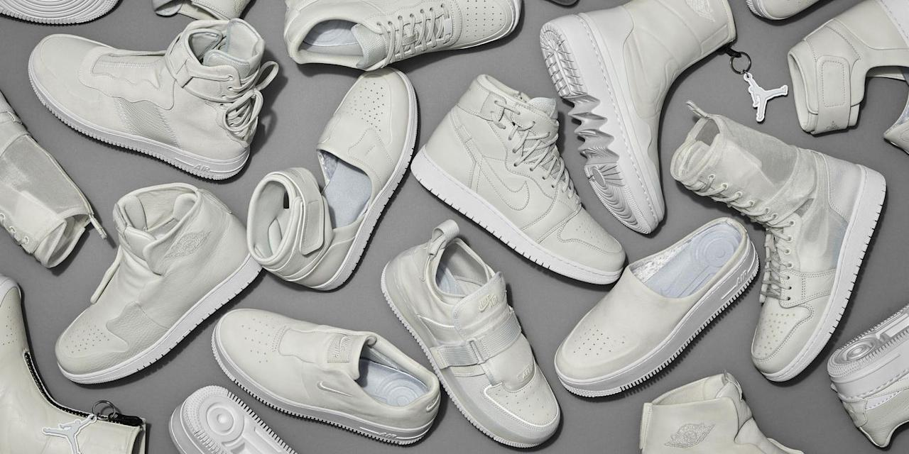 <p>2018 has already been an intense year for sneakers. We started the year heavy on the chunky soles and dad shoe trend, and, while the year goes on, we're getting more into personalized pairs. White sneakers are appearing across every market, acting as canvases for amateur creatives to leave a personal touch on their kicks. Meanwhile, brands have also been focused on blending the past and the future; you'll find this list is populated with shoes that draw inspiration or elements from the '80s and '90s, but play with them in very contemporary ways. And while technology used to be about running away from the past, the sneakers in 2018 show us that we can use it as a launching pad. This is our list of the best sneakers of 2018, so far.</p>