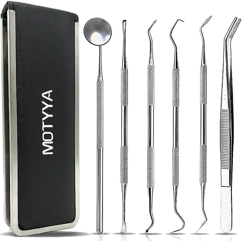At-home dental cleaning kit from Amazon DIY dentistry