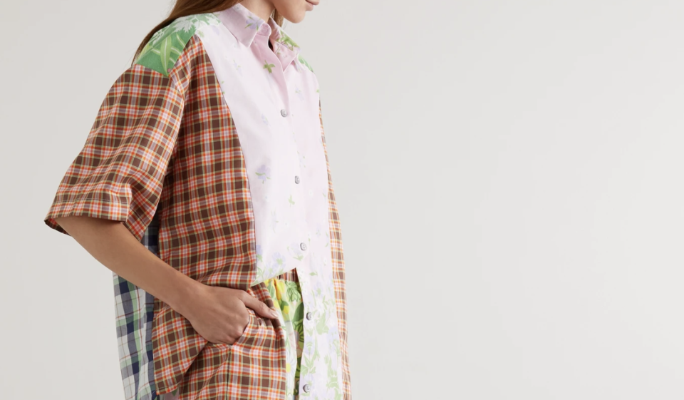 Rave Review patchwork top. (PHOTO: Net-A-Porter)
