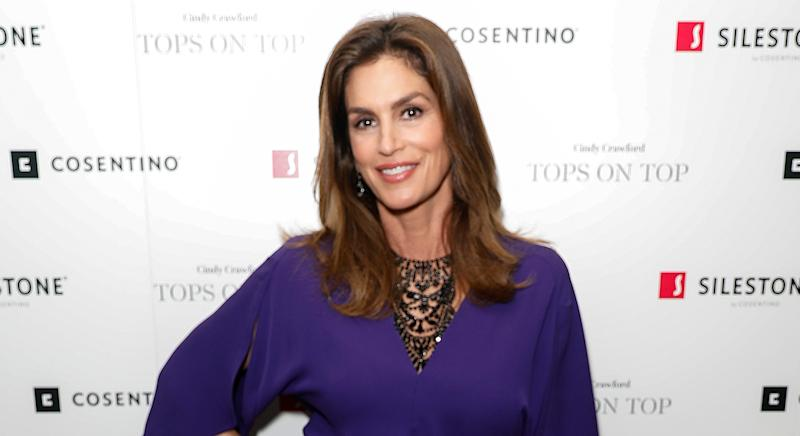 Cindy Crawford reveals her beauty secrets and go-to make-up products. (Getty Images)