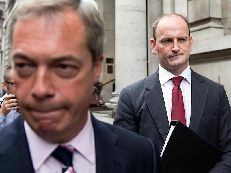 Douglas Carswell has left Ukip: Getty