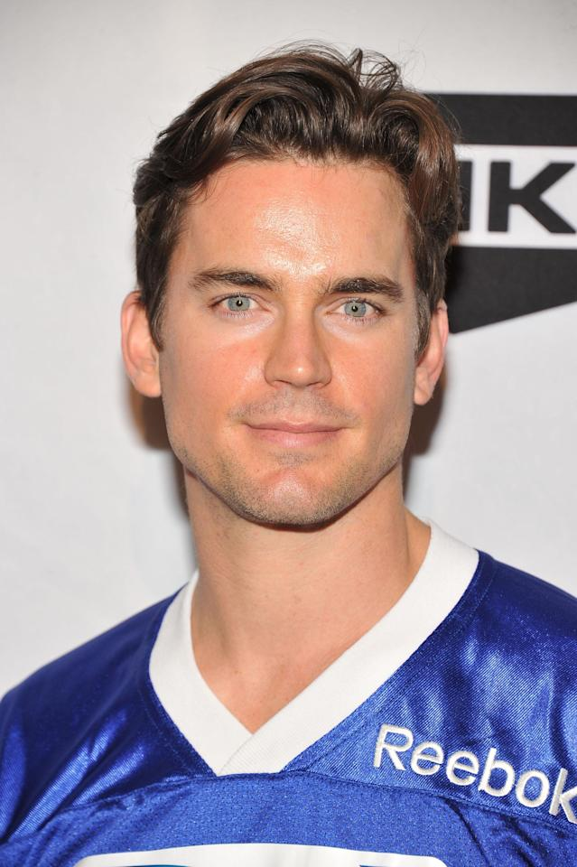 INDIANAPOLIS, IN - FEBRUARY 04: Actor Matt Bomer attends DIRECTV's Sixth Annual Celebrity Beach Bowl Game at Victory Field on February 4, 2012 in Indianapolis, Indiana. (Photo by Theo Wargo/Getty Images for DirecTV)