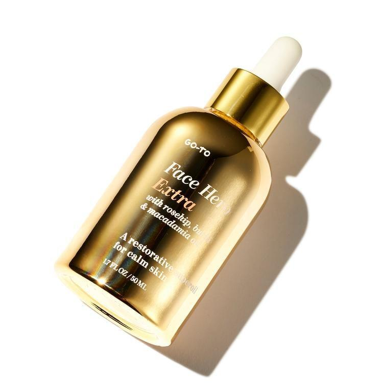 """<p>""""Face oil is a pretty luxurious beauty gift in itself, but the <span>Go-To Face Hero Extra</span> ($54) really lives up to its 'extra' name. It's the brand's same bestselling face oil, just bigger and more gold. This luxe bottle would look seriously good on any vanity."""" - SN</p>"""