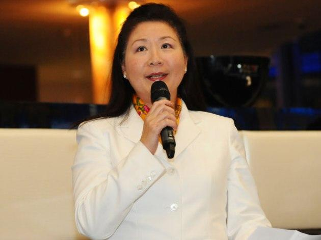 Jessie Phua, president of the Singapore Bowling Federation, chairwoman of the Singapore Sports Awards 2013 and Singapore National Olympic Council member. (Photo: Singapore Bowling)