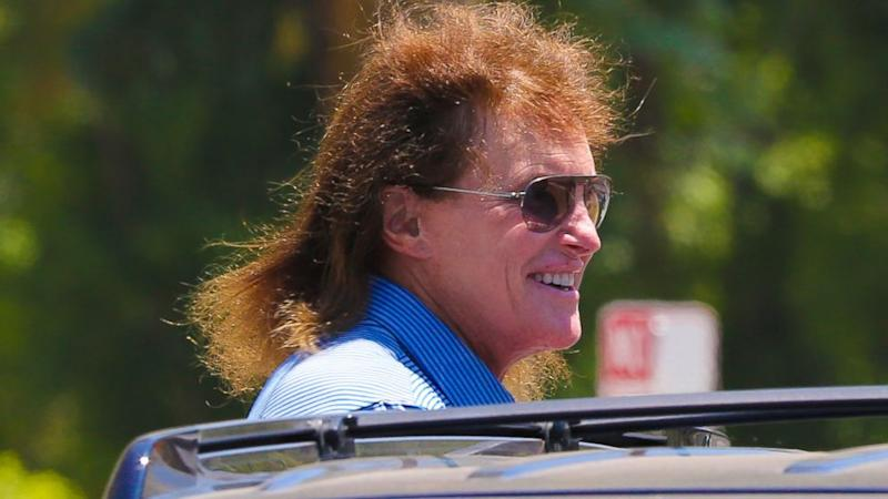 Bruce Jenner Steps Out With New, Even Longer Hair