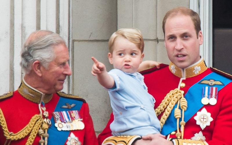 The Duke of Cambridge has spoken of his pride at how his father has rewritten the role of the Prince of Wales - WireImage