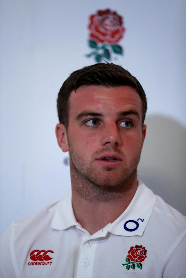 Rugby Union - England Press Conference - Pennyhill Park, Bagshot, Britain - May 25, 2018 England's George Ford during the press conference Action Images via Reuters/Andrew Couldridge