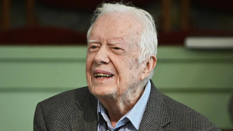 Jimmy Carter taken to hospital with urinary tract infection