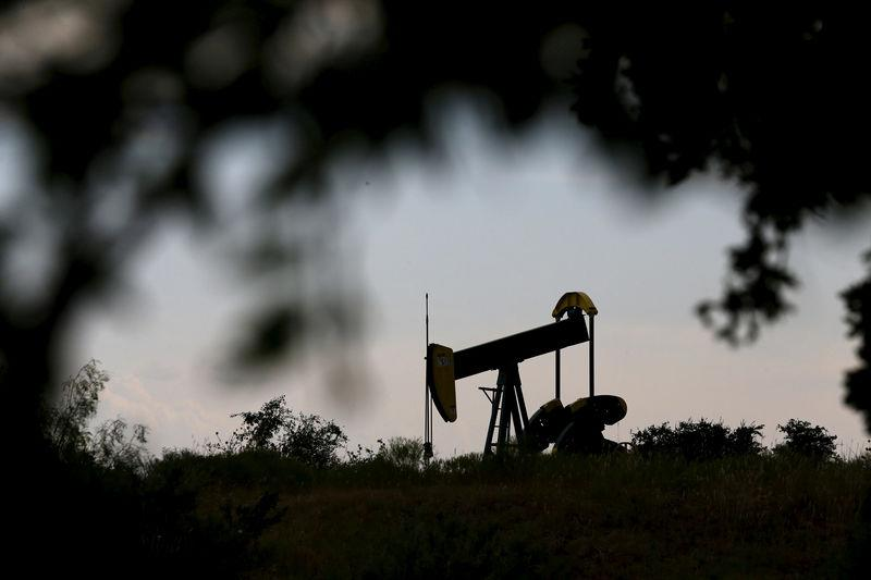 FILE PHOTO: An oil pump jack can be seen in Cisco, Texas