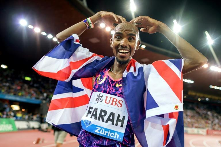 Britain's long-distance runner Mo Farah has won four Olympic gold medals