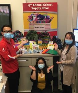 TopLine's 17th annual back-to-school supply drive benefits local communities