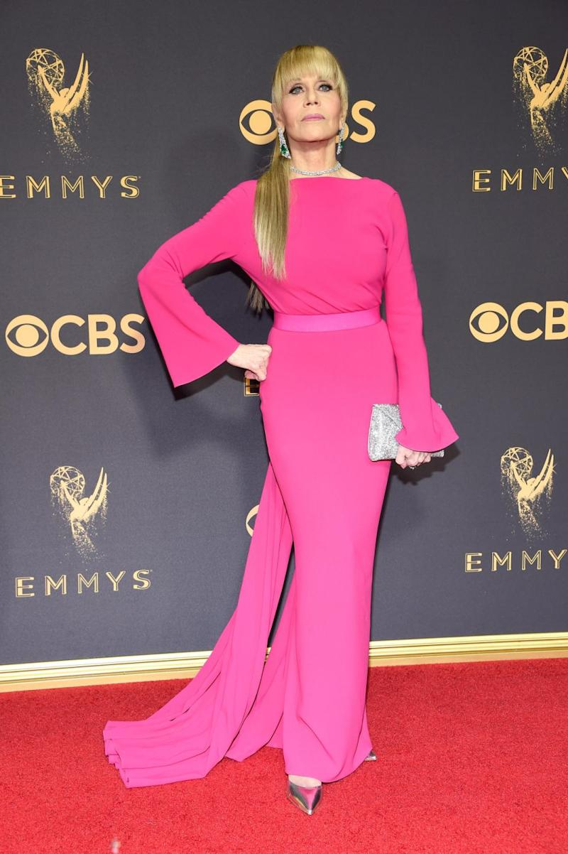 The actress, pictured at this year's Emmys, is a fierce advocate for equality. Source: Getty