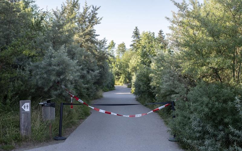 A restricted area at the Zoo Zurich after the accident in the tiger enclosure where a female keeper was attacked and fatally injured by a female tiger - ENNIO LEANZA/EPA-EFE/Shutterstock/Shutterstock