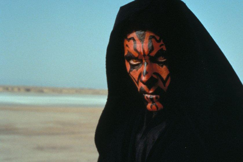 Darth Maul in Star Wars: Episode I - The Phantom Menace (Lucasfilm/20th Century Fox)