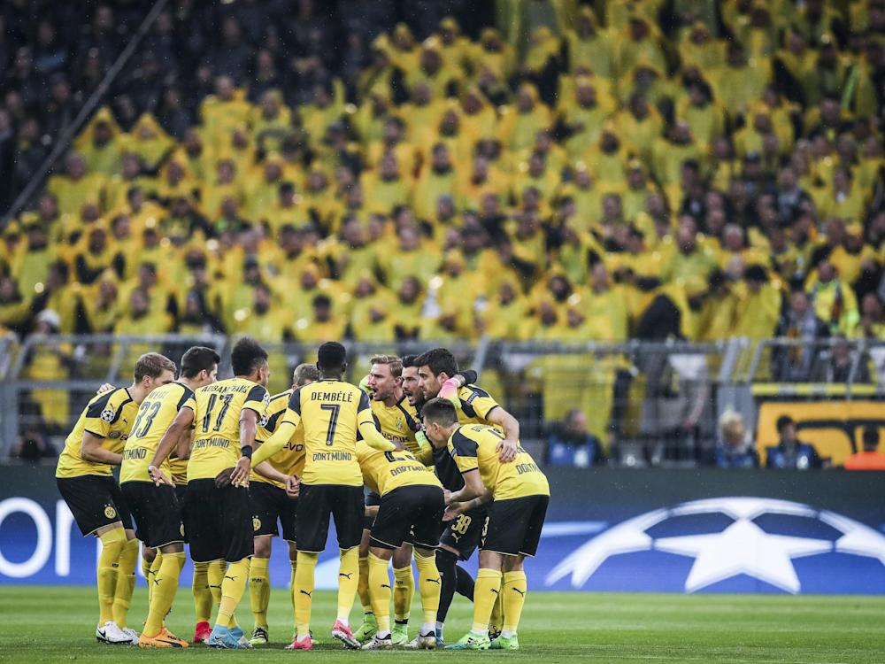 Dortmund decided to play against Monaco, losing the first-leg 3-2: Getty