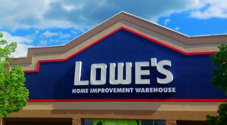 Lowe's stock LOW stock