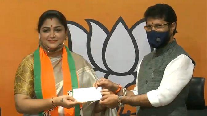 Putting an end to all the speculations, Khushbu Sundar has officially joined the Bharatiya Janata Party (BJP) at an event in New Delhi on Monday.