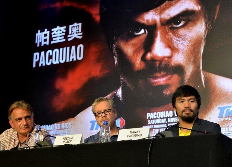 Pacquiao says Philippines presidency can wait
