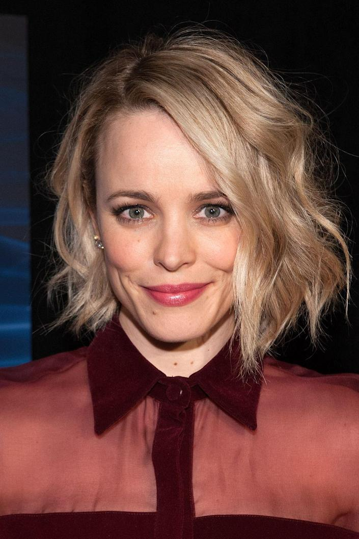 <p>Even though we've seen Rachel McAdams rock a wide variety of hair colors — including pink! — we always picture her as a blonde.</p>