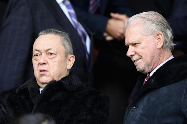 West Ham owners David Sullivan and David Gold set to miss Dagenham & Redbridge friendly after fan trouble