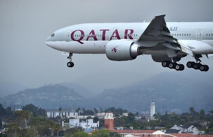 Qatar Airways has notified American Airlines it wants to buy about a 10 percent stake in the US carrier, which confirmed the move in a securities filing (AFP Photo/FREDERIC J. BROWN)