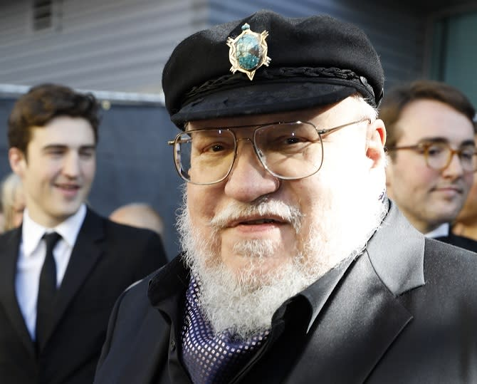 George R. R. Martin arrives at the 71st Primetime Emmy Awards on Sunday, Sept. 22, 2019, at the Microsoft Theater in Los Angeles. (Photo by Christy Radecic/Invision for FIJI/AP Images)