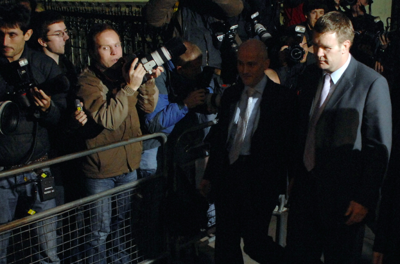 Mr Rees spoke at the inquest in 2008 into the deaths of Diana and Dodi Fayed (Picture: Rex)