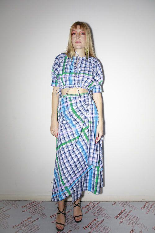 """<p>Made from 100% organic cotton, hand-painted checked deadstock cotton and vintage tablecloths, Appetite Studio creates picnic-ready and made-to-order separates and dresses from Hackney.'[Appetite Studio was] born from a desire and need to create thoughtfully designed garments using rare and sustainable textiles.' brand co-founder Charlotte Brown told ELLE UK. 'Appetite creates a new recipe for the modern wardrobe that serves for our lifetime but will not have a lasting impact on our earth.'</p><p><a class=""""link rapid-noclick-resp"""" href=""""https://www.appetitestudio.co.uk/shop"""" rel=""""nofollow noopener"""" target=""""_blank"""" data-ylk=""""slk:SHOP APPETITE STUDIO NOW"""">SHOP APPETITE STUDIO NOW</a></p>"""