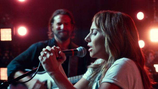 PHOTO: Bradley Cooper and Lady Gaga in a scene from the movie, 'A Star is Born.' (Warner Bros. Pictures)