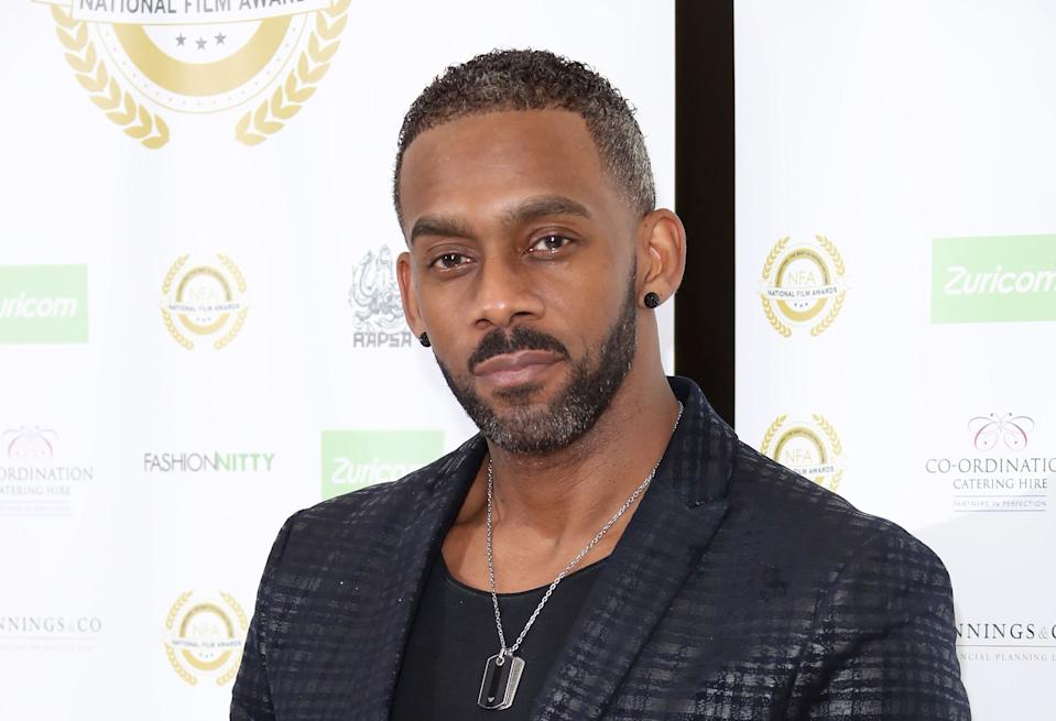 Richard Blackwood has shared sad family news (Photo by Mike Marsland/Mike Marsland/WireImage)