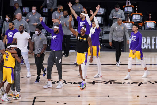 A moment of rest finally arrives at the NBA Finals