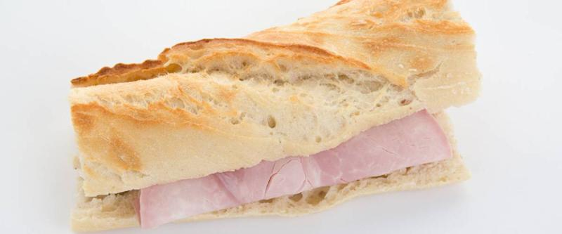 It's as simple as using the sandwich method