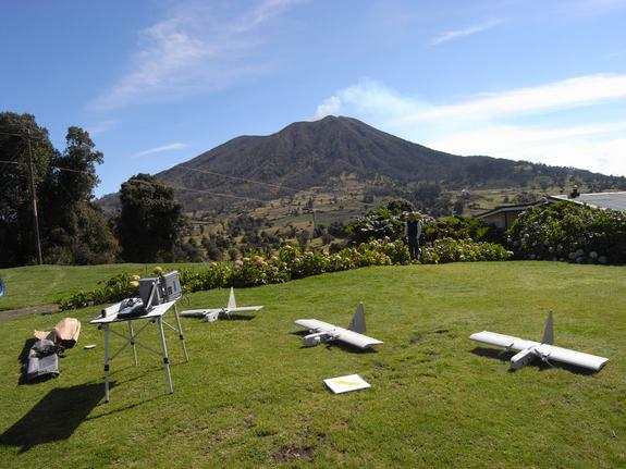 Unmanned Planes Fly Through Poisonous Volcanic Fumes