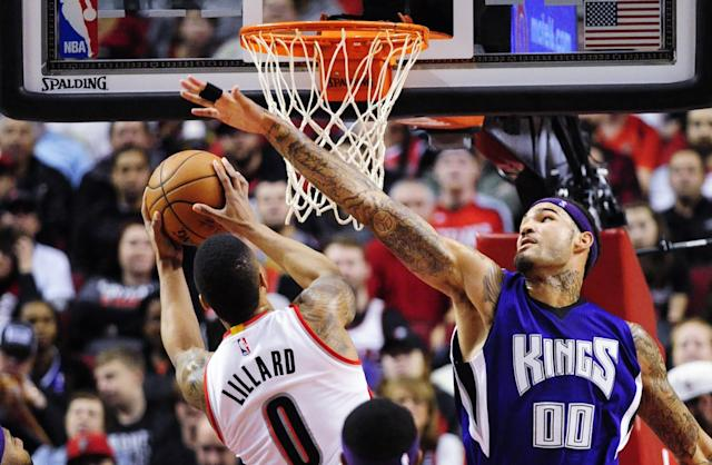 Willie Cauley-Stein (right) has the potential to become a game-changing defender. (AP)