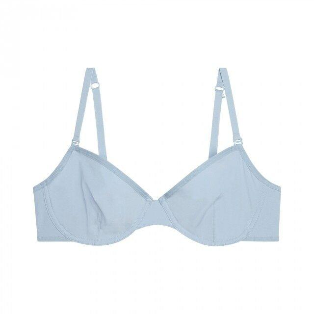 The Kit Classic Demi Bra in Forget Me Not