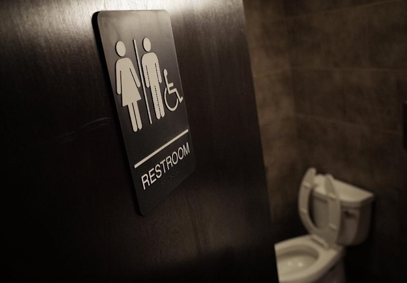 The previous administration of president Barack Obama has said public schools should grant access to toilets and locker rooms based on the gender with which students identify, not the birth gender (AFP Photo/MANDEL NGAN)