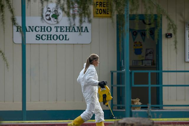 Neal was fatally shot by police while carrying out the attack. One stop made by the gunman was the Rancho Tehama Elementary School in Corning, California.
