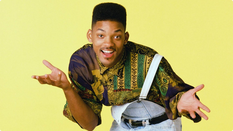 Will Smith plays Will Smith Fresh Prince of Bel Air