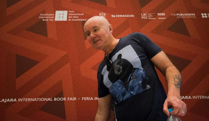 """Scottish novelist Irvine Welsh of """"Trainspotting"""" fame took to Twitter to skewer the choice of Bob Dylan for the Nobel literature prize (AFP Photo/Hector Guerrero)"""