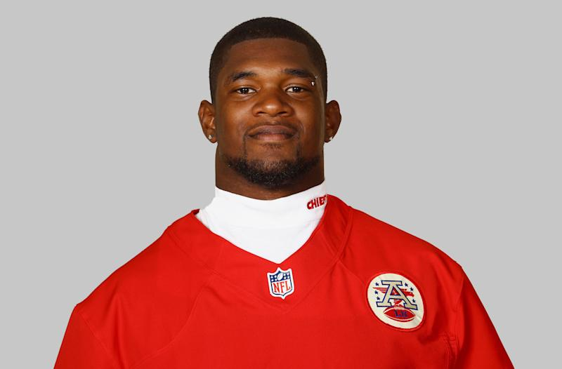 <p>This is a 2012 photo of Jovan Belcher of the Kansas City Chiefs NFL football team. This image reflects the Kansas City Chiefs active roster as of Thursday, July 5, 2012 when this image was taken. (AP Photo)</p>
