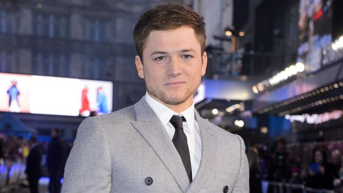 VIDEO AVAILABLE Mandatory Credit: Photo by Jonathan Hordle/REX/Shutterstock (5614924ce) Taron Egerton 'Eddie The Eagle' film premiere, London, Britain - 17 Mar 2016
