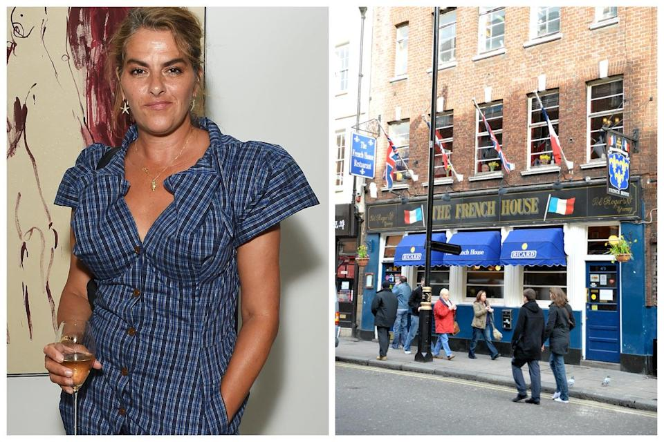 <p>The one-off auction to help The French House was held over 24 hours on May 8  with works from Emin, <a href=