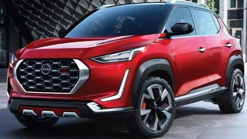 Ahead of launch, Nissan Magnite SUV spotted testing sans camouflage