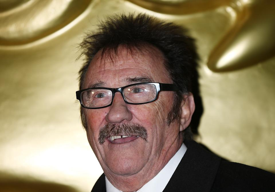 Paul Chuckle arriving at the British Academy Children's Awards at The Roundhouse in London.