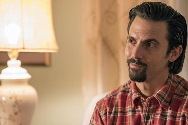 Milo Ventimiglia as Jack Pearson in <em>This Is Us</em>. (Photo: Ron Batzdorff/NBC)