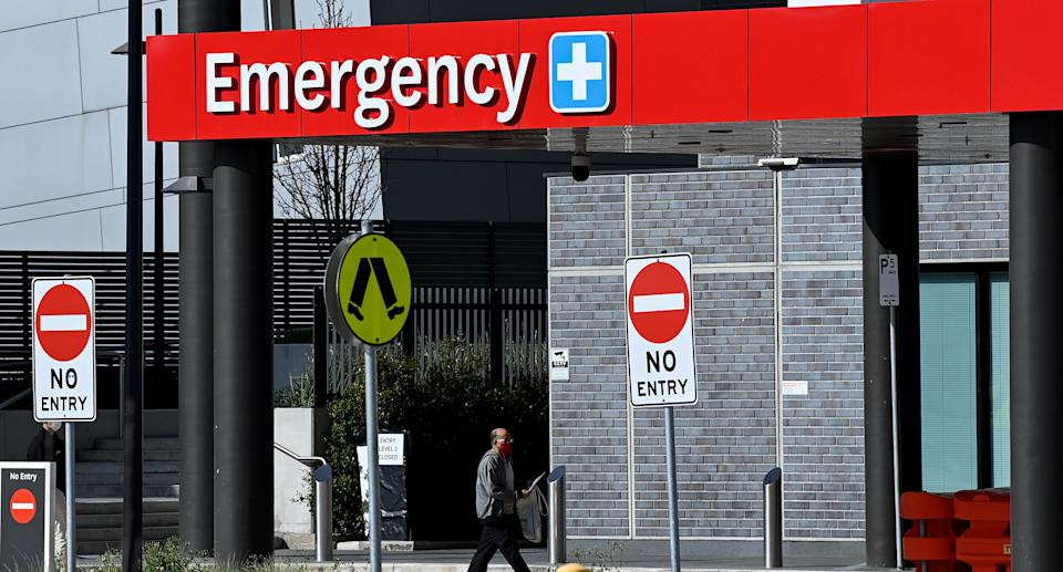 General view of the Blacktown Hospital  in Sydney, Thursday, August 26, 2021. Source: AAP