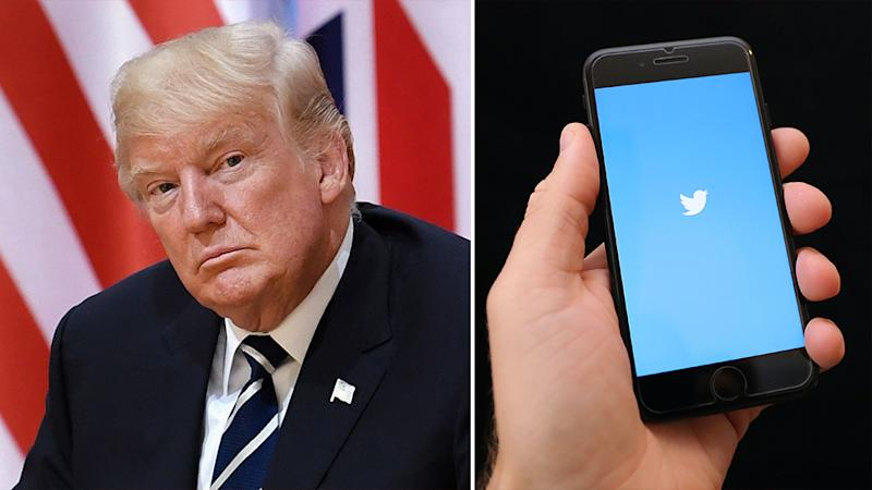 Twitter says users who openly express their desire US President Donald Trump dies following his Covid-19 diagnosis will be suspended. Source:AAP